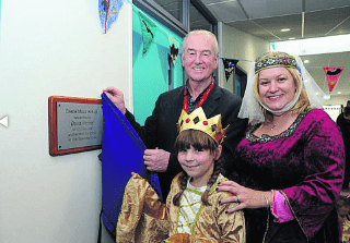 Children's author helps celebrate Trowbridge school's opening