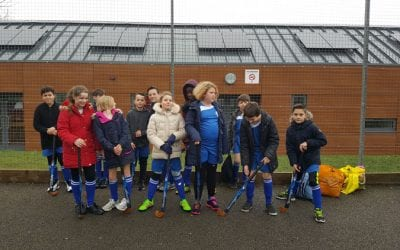 Castle Mead take part in Hockey Festival